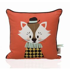 Ferm Living - Marionette Aristo Katt Pillow 7514 at from Saved to You're kiddin' me baby. Kids Pillows, Throw Pillows, Sofa Cushions, Couch, Art Wall Kids, Wall Art, Design3000, Cat Cushion, Wooden Picture