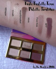 See the World in PINK: Tarte Tartelette Tease Palette - Review, Swatches, and Makeup Looks #seetheworldinpink