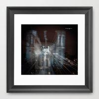 Framed Art Print featuring Festival of lights by Stwayne Keubrick Fine Art Photographer
