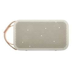 B&O BeoPlay Portable Bluetooth Speaker  http://store.apple.com/xc/product/HJJN2ZM/A