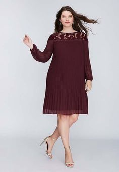 Нарядные платья для полных женщин американского бренда Lane Bryant, осень 2016
