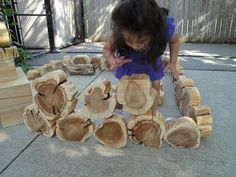 Fab tree cookies / blocks.