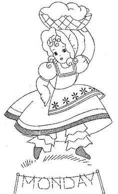 Embroidery pattern. Love this set of patterns for Embroidering Dish Towels. Need to order a set!