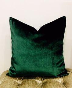 Luxury Dark Emerald Green Upholstery Velvet Fabric, Fabric By The Yard, Curtain Fabric, Pillow Fabric, Furniture Fabric, Fabric By The Meter