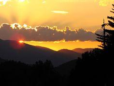 BRUSHSTROKES: Sunday Sunsets, San Bernardino Mountains, CA
