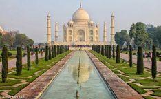Picture perfect Taj Mahal, India.  Photo by TG member Mac
