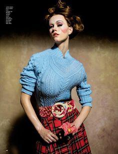 Tim Walker's 'Portrait of a Lady' for Love magazine, Autumn/Winter 2016