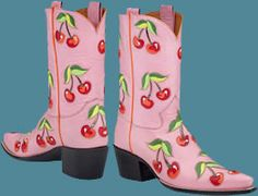 "Rocketbuster Boots | ""Cherry Amore"" 
