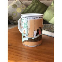 Annie Tempest is one of Britain's best loved cartoonists, designing this quirky bone china mug as inspiration from her cartoon strip Tottering By. China Mugs, Bone China, Tableware, Design, Dinnerware, Tablewares, Dishes, Place Settings