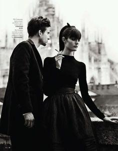 Love Story by Nikolay Biryukov for Elle Ukraine September 2012