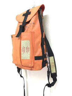Porter Made in Japan Luggage Label Yoshida Mini Backpack Rescue Team Water  Resistant Bag Size one 3a0d1e9bfaa9a