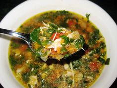 Chicken and Bits Soup