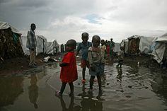 #DRC #ShelterBox #DisasterRelief #Kids #Puddles