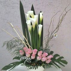Types Of Purple Flowers Products Tropical Flower Arrangements, Ikebana Flower Arrangement, Funeral Flower Arrangements, Rose Arrangements, Beautiful Flower Arrangements, Tropical Flowers, Beautiful Flowers, Purple Flowers, Church Flowers