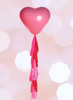 A personal favorite from my Etsy shop https://www.etsy.com/listing/217357603/giant-heart-balloon-with-tassel-geronimo