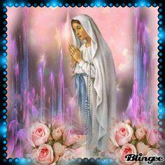 Angel Prayers, Catholic Prayers, Religious Pictures, Jesus Pictures, Jesus Peace, Christian Pictures, Mary And Jesus, Holy Mary, Jesus On The Cross