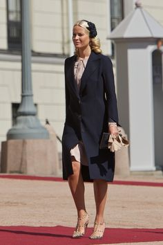 Princess Mette-Marit - Norwegian Royals Host State Visit From Luxembourg - Day 1