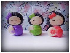 #Japonesinhas by me. #Biscuit / #Porcelanafria