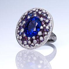 ミキモトのハイジュエリー、タンザナイトリングをご紹介します。―日本を代表する世界のジュエラー MIKIMOTO(ミキモト)。1897年より、養殖真珠のオリジネーターとして、美を追求し続けています。
