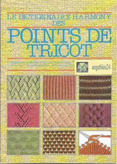 Dictionnaire Harmomy Point de tricot vol.1 - Les tricots de Loulou - Picasa Albums Web