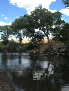 Truckee River on a beautiful Nv day