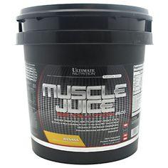Muscle Juice Revolution 2600 Ultimate Nutrition Aroma Bananencreme, 5.04 kg CHF 87.95 - neu im Sortiment #muskelaufbau #bodybuilding #fitness #active12 #massgainer #UltimateNutrition #Rezept400 #Rezept200 #Un386 #X400g #x200g. 400-Kalorien-Portion: 104 g - auch auf myfitnesspal.com zur Ernährungsplanung bereit, suche nach Un386. Einkauf: http://www.active12.ch/Sportnahrung-und-Ergaenzungen/Weight-Gainer/Muscle-Juice-Revolution-2600-Ultimate-Nutrition-Banane-grosser-Eimer.html