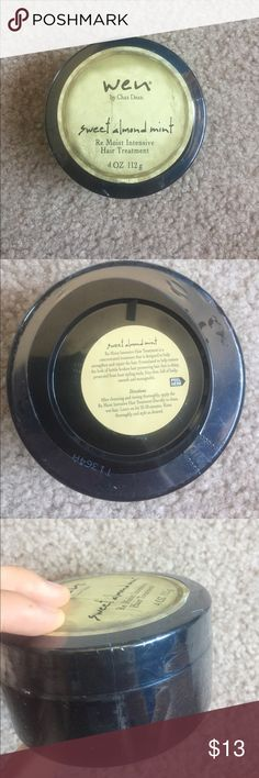 New Wen remoist intensive hair treatment Wen by Chaz Dean Sweet Almond Mint Re Moist Hair Treatment. New, with original plastic wrap intact.    👀Like the item but not the price? Make an offer👀 💫Feel free to ask for more pictures💫 ⭐️Check out the rest of my closet to bundle⭐️ wen Makeup