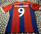 For Sale - LEWANDOWSKI #9 Bayern Munich Home Champions League Jersey Size: LARGE - See More at http://sprtz.us/BayernEBay