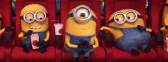 Minions at the theater