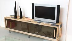 Transformar escobero en mueble bajo de TV