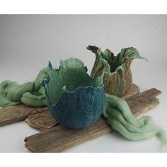 Töpfe aus Wolle  DIY Anleitung