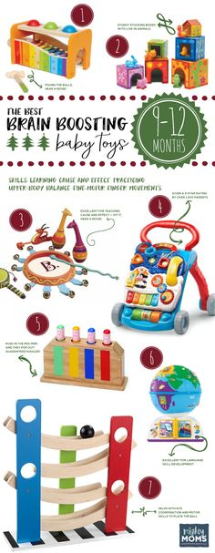 The Best Brain-Boosting Toys for 9-12 Month Olds ~ MightyMoms.club