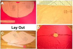 How to make poodle skirt- for N's sock hop.