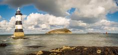 Pemon Light House Anglesey Wales Pano by PaulMossphotography.deviantart.com on @DeviantArt
