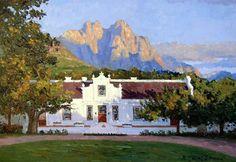 Lanzerac Mount Rushmore, Wine, Adventure, Mountains, Mansions, House Styles, Nature, Travel, Beautiful