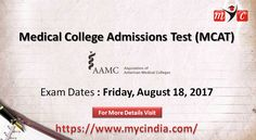 Attention medical aspirants. The next round of MCAT-2017 to be held on 18/08/2017.