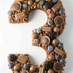 Chokolade tal kage opskrift og vejledning