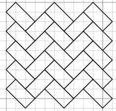 Blackwork woven-looking patterns.