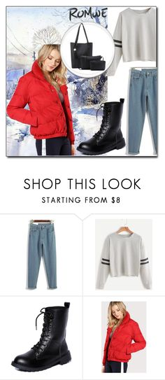 """ROMWE  - 5"" by thefashion007 ❤ liked on Polyvore featuring Tramontana"