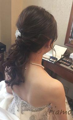 可愛い花嫁さま♡ドレスから色打掛へとチェンジの素敵ホテル婚   大人可愛いブライダルヘアメイク 『tiamo』 の結婚カタログ