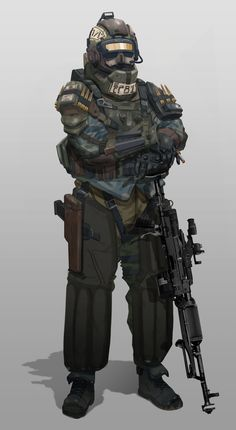 ArtStation - Spartan Ranger Anti Tank Soldier - Vadim, Will JinHo Bik