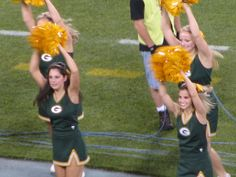 This is for you! cheerleaders greenbay packers
