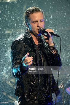 Ryan Tedder of One Republic performs on stage at the MTV Europe Music Awards 2016 on November 6, 2016 in Rotterdam, Netherlands.  (Photo by Kevin Mazur/WireImage)