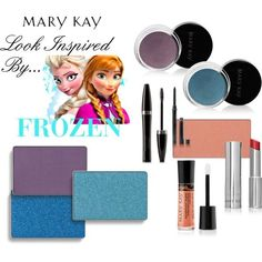 """Frozen Inspired Look"" As a Mary Kay beauty consultant I can help you, please let me know what you would like or need. Contact me to learn more about my makeover, facials our amazing business opportunity or questions about our products! Mary Kay Canada, Mary Kay Ash, Maquillage Mary Kay, Selling Mary Kay, Mary Kay Party, Disney Makeup, Mary Kay Cosmetics, Beauty Consultant, Mary Kay Makeup"