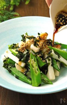 Japanese Dishes, Japanese Food, Cooking Recipes, Healthy Recipes, Food Menu, Food For Thought, Vegetable Recipes, Salad Recipes, Food And Drink