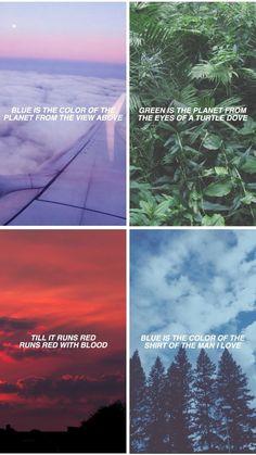 Blue / Green / Red // Lana Del Rey ft. Stevie Nicks #Beautiful_People_Beautiful_Problems