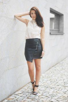 Leather Skirt Missguided | Jill Dress