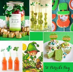 St. Patrick's Day Party Ideas, Activities, Trivia   St Patrick's Day Theme decorations