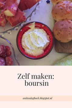 Zelf maken: boursin | Anita's dagboek Kitchen Recipes, Snack Recipes, Vegan Challenge, Good Food, Yummy Food, Creole Recipes, Homemade Cheese, Dutch Recipes, Party Food And Drinks