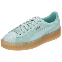 e1c16ef9fd61 Damen PUMA Sneaker Suede Platform Pebble   04059504901371 - Kategorie  Damen  SchuheSneaker Der Suede Platform Pebble ist inspiriert vom Puma Suede und  ...